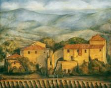 Maremma Farm, 48¨ x 60¨ oil on canvas