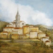 Trevi*, 24¨ x 24¨ oil on canvas