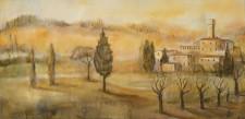 Cypress, 22¨ x 46¨, oil on wood