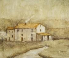 Umbrian Farm house, 20¨ x 24¨, oil on wood