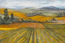 * Autumn Vineyards, 24¨ x 36¨, oil on canvas