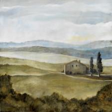 Small Farm*, 24¨ x 24¨, oil on canvas