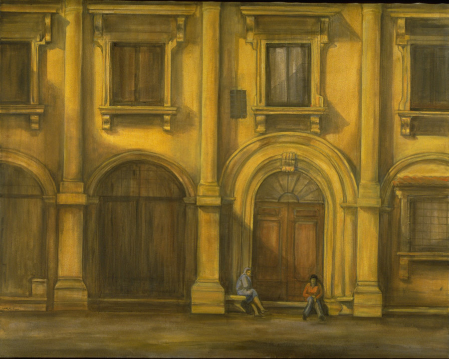 Facade , 48¨ x 60¨, oil on canvas