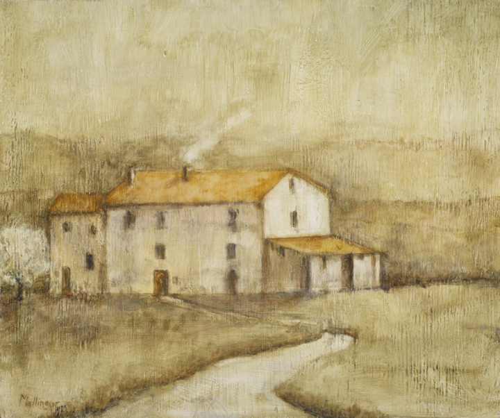 Umbrian Farm house, 20¨ x 24¨, oil on wood
