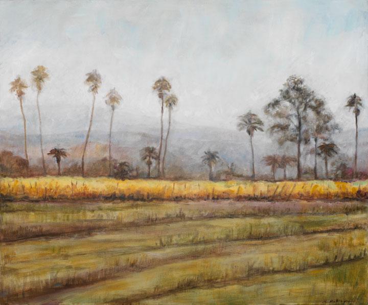 Carneros I*, 20¨ x 20¨, oil on canvas