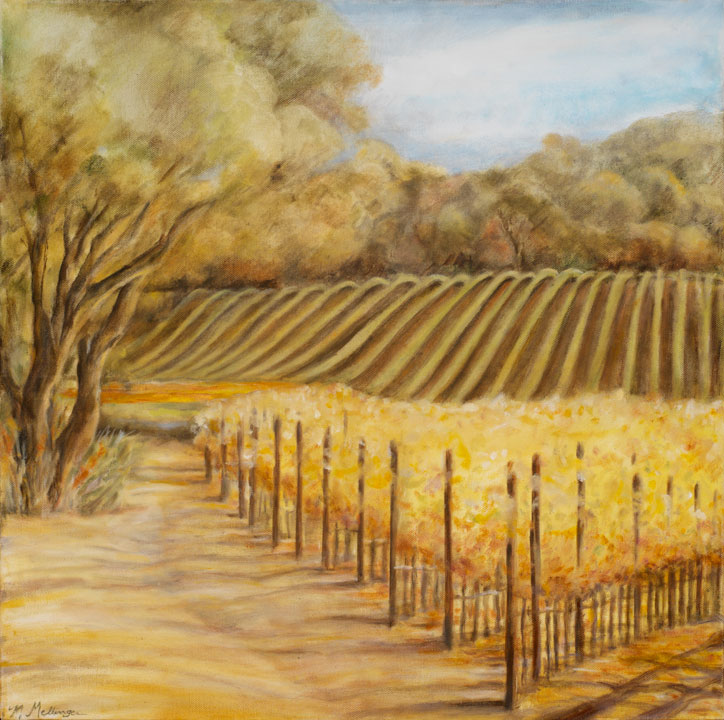 Carneros II*, 20¨ x 20¨, oil on canvas