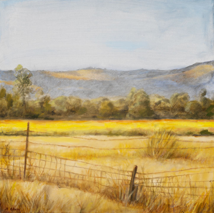 Carneros III*, 20¨ x 20¨, oil on canvas