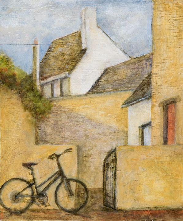 Street with bike, 11